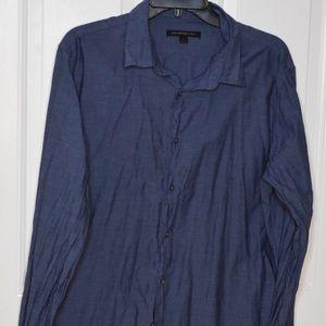 John Varvatos button down mens shirt